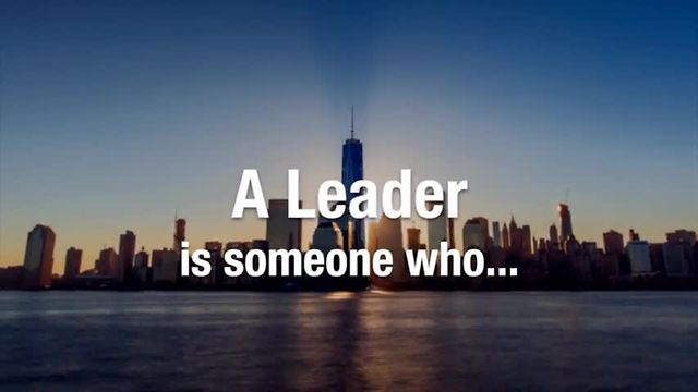 A Leader Is...™