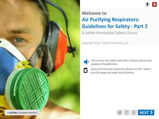 Air Purifying Respirators - Guidelines for Safety™ - Part 2