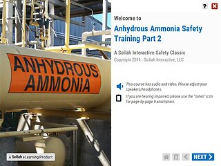 Anhydrous Ammonia Safety Training™ - Part 2