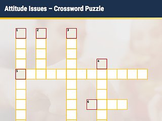 Attitude Issues - Interactive Crossword Puzzle