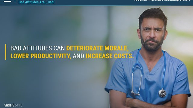 ATTITUDE!™ Resolving Difficult Situations in the Workplace for Healthcare (eLearning)