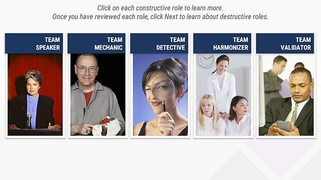Creating a High Performing Team: An Advantage eLearning Course