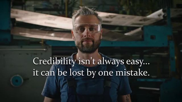 Credibility Is...™