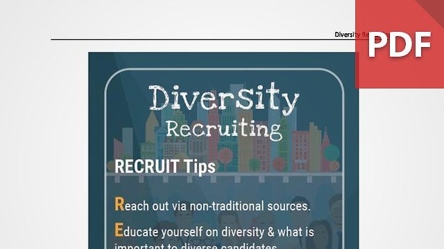 Discussion Card: Diversity Recruiting
