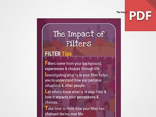 Discussion Card: The Impact of Filters