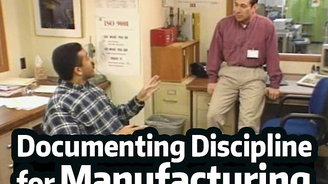 Documenting Discipline™ (For Manufacturing/Industrial)
