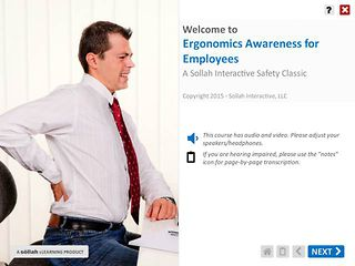 Ergonomics Awareness for Employees™ - An eLearning Classic