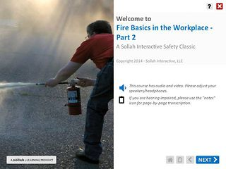 Fire Basics in the Workplace™ - Part 2