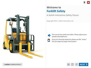 Forklift Safety™ (Safety Classic eLearning Course)