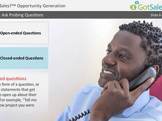 Got Sales?™ Opportunity Generation