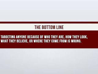 Harassment & Discrimination: The Bottom Line