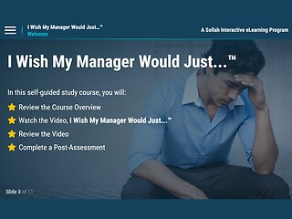 I Wish My Manager Would Just...™ (eLearning)