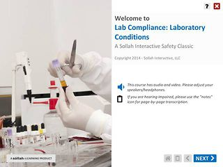 Lab Compliance: Laboratory Conditions™