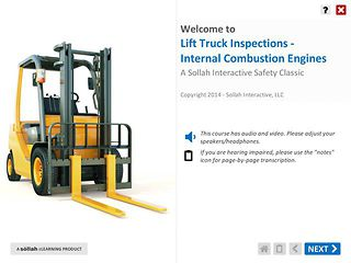 Lift Truck Inspection™: Internal Combustion Engines