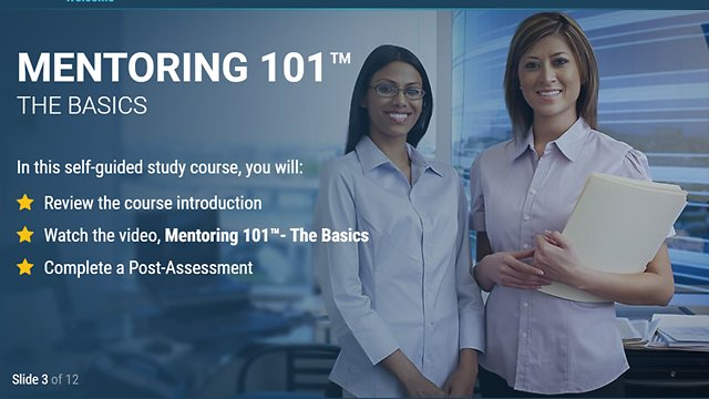Mentoring 101™ – The Basics (eLearning Classic)