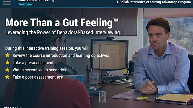 More Than a Gut Feeling™: Leveraging the Power of Behavior-Based Interviewing (Advantage Course)