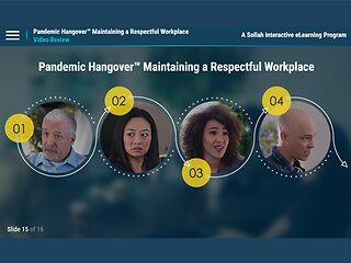 Pandemic Hangover™ Maintaining a Respectful Workplace (eLearning Program)