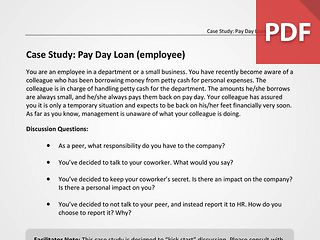 Pay Day Loan