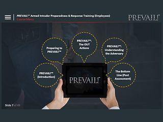 PREVAIL!® Armed Intruder Preparedness & Response Training (Advantage Plus - Employee)