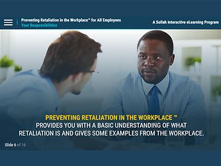 Preventing Retaliation in the Workplace: Recognize. Respond. Resolve.™ (All Employees)