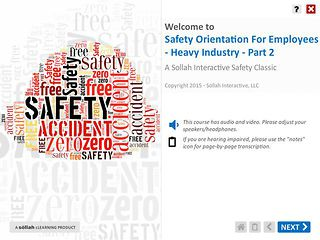 Safety Orientation for Employees - Heavy Industry™ - Part 2