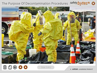 SafetyBytes® - Decontamination The Hot Zone and Procedures