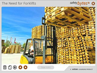 SafetyBytes® - Factors Affecting Forklift Safety