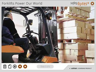 SafetyBytes® - Forklift Safety: Picking Up a Load
