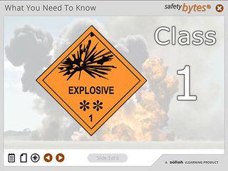 SafetyBytes® - Hazard Class 1 Explosives