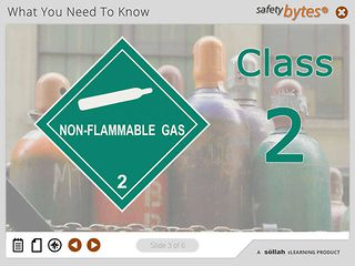 SafetyBytes® - Hazard Class 2 - Compressed and Liquefied Gases