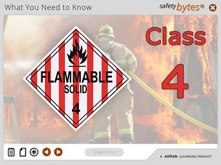 SafetyBytes® - Hazard Class 4 - Flammable Solids