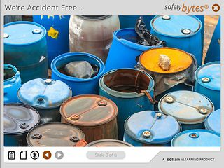 SafetyBytes® - Responding to Chemical Spills or Leaks