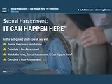 Sexual Harassment: It Can Happen Here™ (Employees)