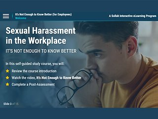 Sexual Harassment… It's Not Enough to Know Better (For Employees)