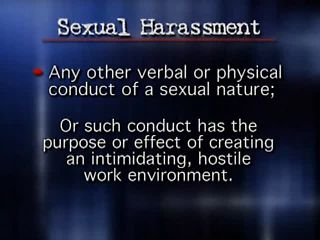 Sexual Harassment Prevention (Self-Study Program)