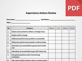 Supervisory Strength Assessment