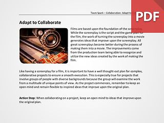 Team Spark: Adapt to Collaborate