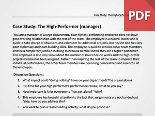 The High Performer