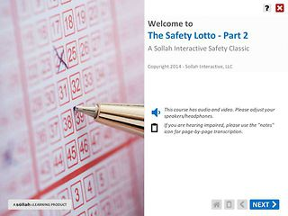 The Safety Lotto™ - Part 2