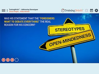 TrainingBriefs® Addressing Stereotypes