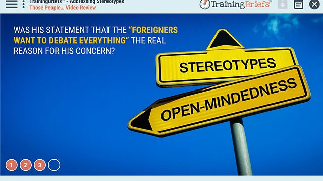 TrainingBriefs™ Addressing Stereotypes