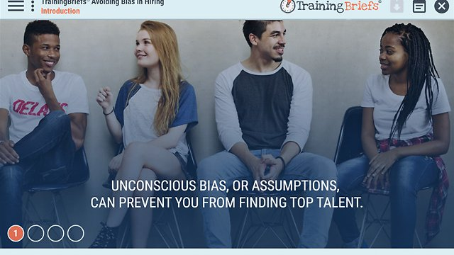 TrainingBriefs™ Avoiding Bias in Hiring