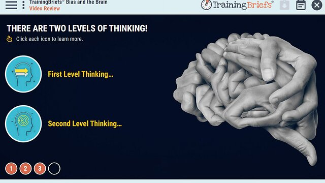TrainingBriefs™ Bias and the Brain