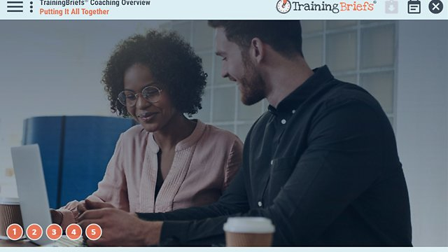 TrainingBriefs® Coaching Overview