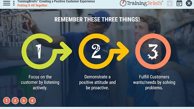 TrainingBriefs™ Creating a Positive Customer Experience