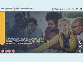 TrainingBriefs® Creating a Respectful Workplace
