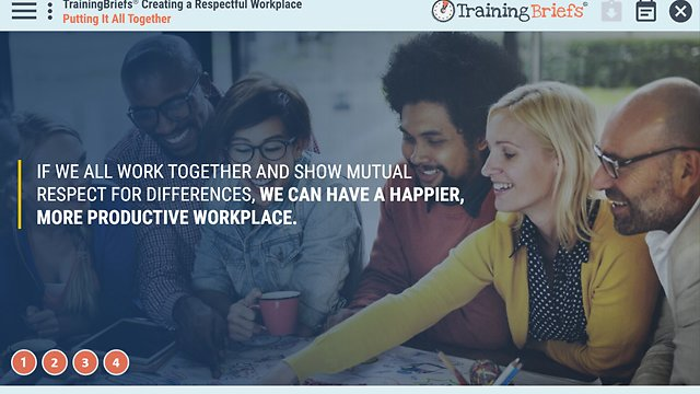 TrainingBriefs™ Creating a Respectful Workplace