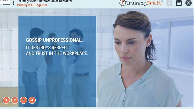 TrainingBriefs™ Defamation of Character