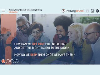 TrainingBriefs® Diversity in Recruiting & Hiring