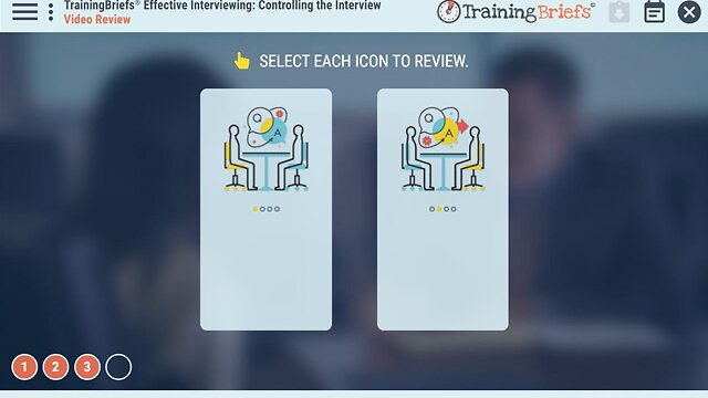 TrainingBriefs® Effective Interviewing: Controlling the Interview
